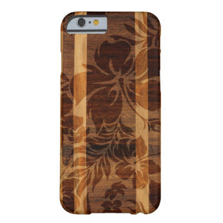 Keokea Strand-Imitat-Holz-Surfbrett Barely There iPhone 6 Hülle
