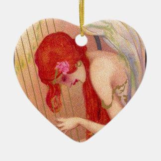KERAMIK Herz-Ornament