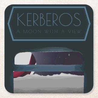 Kerberos-Raum-Untersetzer Rechteckiger Pappuntersetzer