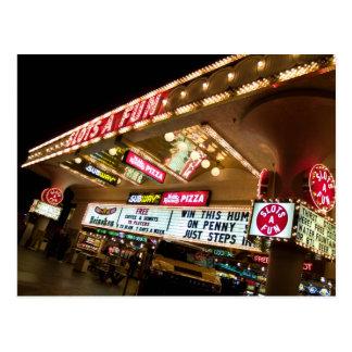 Kerbt ein Spaß-Las VegasFoto-Postkarten 2007 Postkarte
