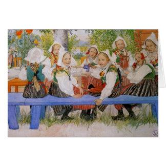 Kersti Geburtstag 1909 Grußkarte