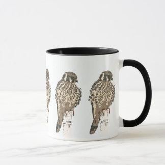 Kestrel-Vogel-Tasse Tasse