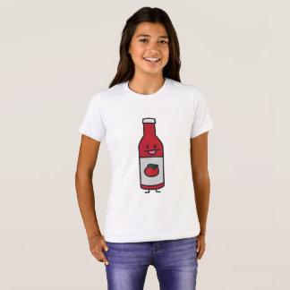 Ketschup-Flaschen-Tomatensauce-Tabellenwürze T-Shirt