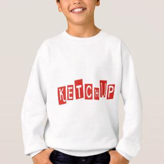 Ketschup-Produkte u. Entwürfe! Sweatshirt