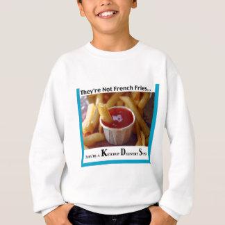 Ketschuppommes-fritesfreiheit brät T-Shirt