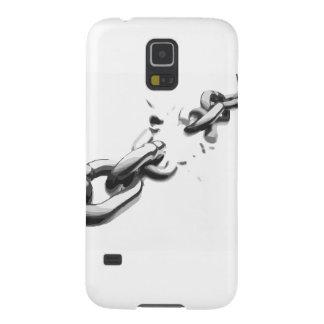 Kette der Freiheit gebrochen Galaxy S5 Cover
