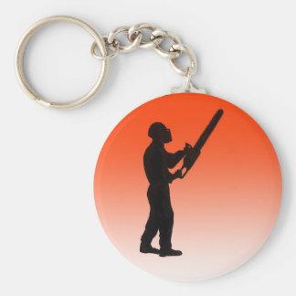 Kettensägen-Baum-Chirurg Schlüsselanhänger