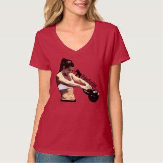 Kettlebell Girl Paleo T-Shirt