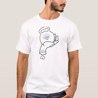 Kettlebell Handentwurf T-Shirt