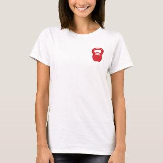 Kettlebell Rot T-Shirt
