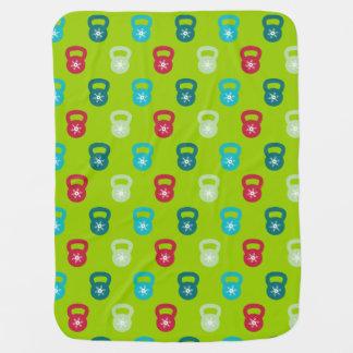 Kettlebell Schneeflocke-Muster - Training Babydecken