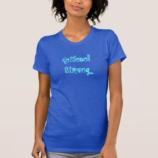 Kettlebell starker Behälter T-Shirt