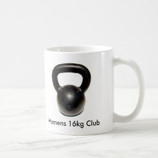 Kettlebell, Verein das 16kg der Frauen Kaffeetasse