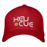 Kev Cue Red Cap Bestickte Kappe