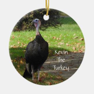 Kevin die Türkei - altes Wethersfield, CT (2 Keramik Ornament