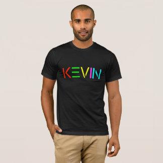 Kevin-GEIST-Logo auf schwarzem T-Shirt