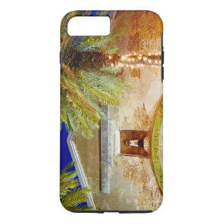 Key West, Clinton-Quadrat nachts iPhone 8 Plus/7 Plus Hülle