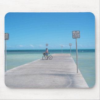 Key West Florida Aquamarine-Ozean-Pier Mousepad FL