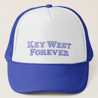 Key West-für immer - abgeschrägtes grundlegendes Truckerkappe
