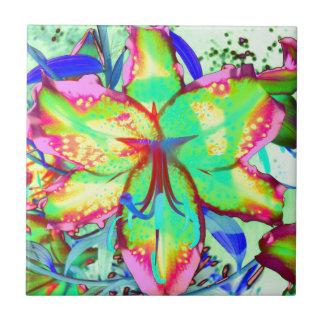 Key West-Lilie Kleine Quadratische Fliese
