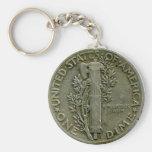 Keychain d'inverse de dixième de dollar des 1943 U Porte-clés