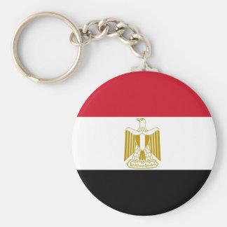 Keychain mit Flagge von Ägypten Standard Runder Schlüsselanhänger