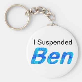 Keychains, verschob ich Ben! Schlüsselanhänger