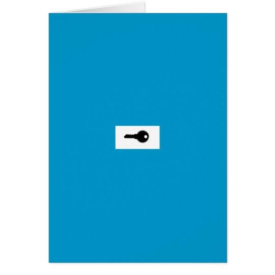 keyholder Karte
