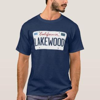 Kfz-Kennzeichen Lakewood Kalifornien T-Shirt