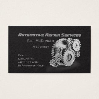 Kfz-Reparatur-Visitenkarte Visitenkarte