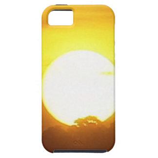 kground addieren NAMENSzitat-FOTO-Sonnenuntergang, iPhone 5 Case