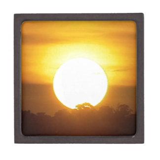 kground addieren NAMENSzitat-FOTO-Sonnenuntergang, Kiste
