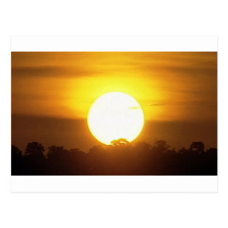kground addieren NAMENSzitat-FOTO-Sonnenuntergang, Postkarte