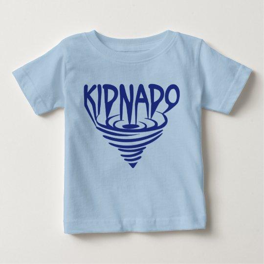 Kidnado Baby-T - Shirt-Blau-Trichter Baby T-shirt