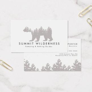 Kiefer-Graubär-Visitenkarte Visitenkarten