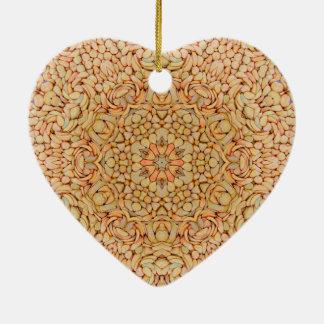 Kiesel-Vintage Muster-Verzierungen Keramik Ornament