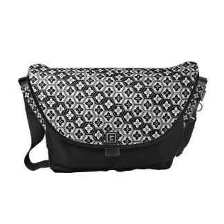 Kikkoubana japanische Muster-Bote-Tasche Kurier Taschen