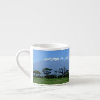 Kilimanjaro kundenspezifische Espresso-Schale Espressotasse
