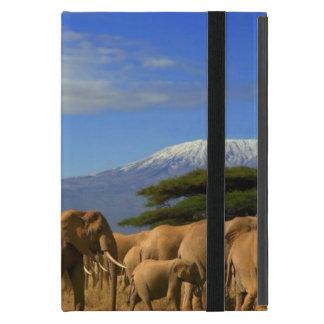 Kilimanjaro und Elefanten Hülle Fürs iPad Mini