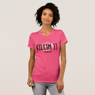 Killin es Kuss-Shirt ROSA Lippen 72marketing T-Shirt