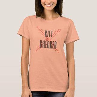 Kilt-Schachbrett T-Shirt