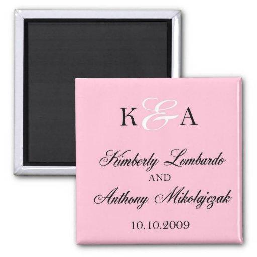 Kim et Anthony - customisés Magnets Pour Réfrigérateur