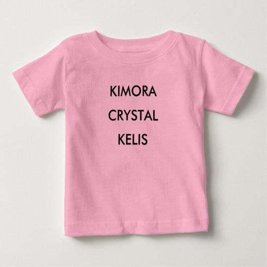 KIMORA KRISTALL KELIS BABY T-SHIRT
