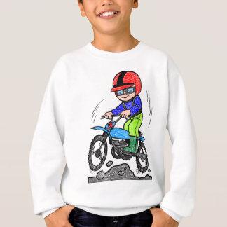 Kind auf Fahrrad Sweatshirt