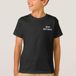 Kind-RING-SICHERHEIT Ringbearers T - Shirt