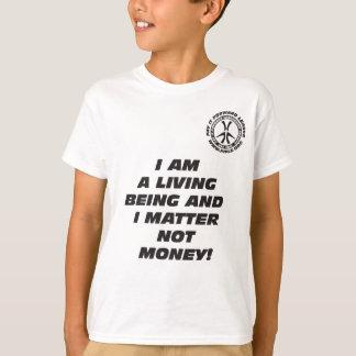 Kinder BIN ICH ein LEBENDES SEIN T - Shirt