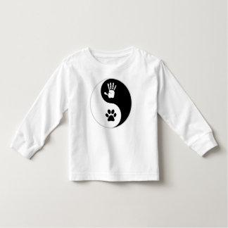 Kinder - HandToPaw Kleinkind-Shirt (lange Hülsen) Kleinkind T-shirt