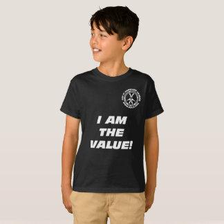 """Kinder """"ich bin der Wert! Sie sind der Wert! """" T-Shirt"""