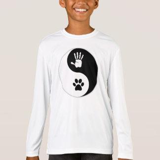 Kinder - langes Hülsen-Shirt (Sport-Tek) T-Shirt