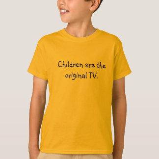Kinder sind das ursprüngliche Fernsehen T-Shirt